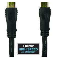 25m HDMI Cable Active High Speed with Ethernet 1.4 2.0