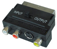 SCART Adapter (S-Video Composite and Audio)