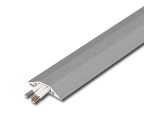 3m Wide Channel Cable Protector Bridge - Grey