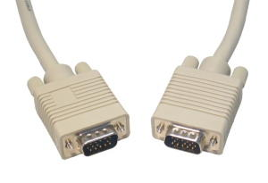 1m VGA Cable Triple Shielded VGA / SVGA Cable
