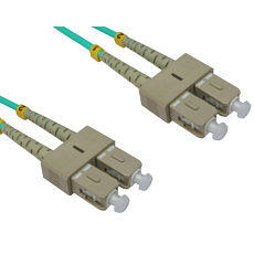 0.5m SC to SC OM3 Fibre Optic Network Cable