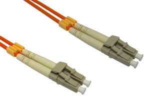 15m OM2 Fibre Optic Cable LC-LC orange 50/125