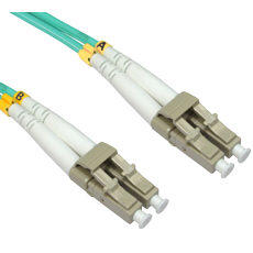 10m OM4 LC LC Fibre Optic Network Cable 50/125