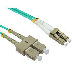 1m OM4 LC SC Fibre Optic Network Cable 50/125