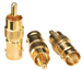 BNC Female to Phono Male Adapter (3 Pack)